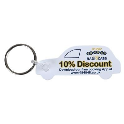Picture of FLEXIBLE PLASTIC SHAPE KEYRING