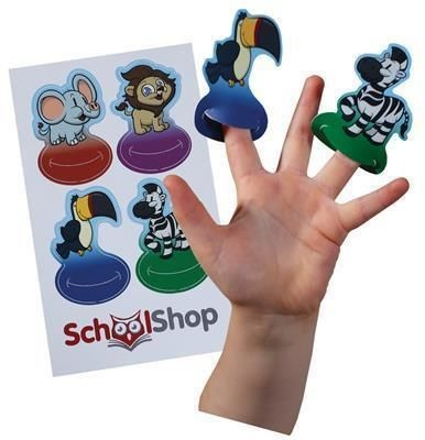 Picture of A5 FINGER PUPPET CARD