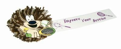 Picture of TENNIS MOPHEAD BUG with Full Colour Printed Ribbon