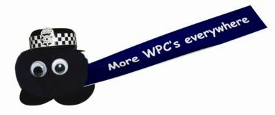 Picture of WPC POLICE LOGO BUG with Printed Ribbon
