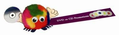 Picture of DVD & CD HANDHOLDER LOGO BUG with Full Colour Printed Ribbon