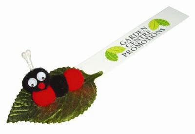 Picture of LEAFY CATERPILLAR LOGO BUG with Full Colour Printed Ribbon