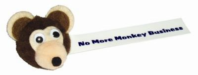 Picture of MONKEY LOGO BUG with Full Colour Printed Ribbon