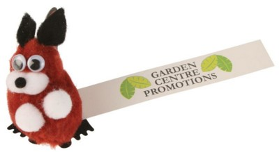 Picture of RED SQUIRREL LOGOBUG with Full Colour Printed Ribbon