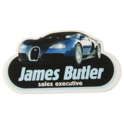 Picture of SHAPE PRINTED FOAM BADGE