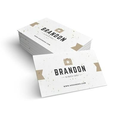 Picture of SEEDED PAPER BUSINESS CARDS