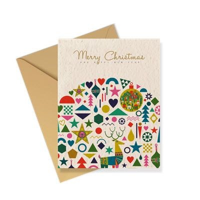 Picture of SEEDED PAPER GREETING CARD