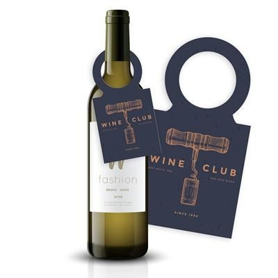 Picture of SEEDED PAPER WINE BOTTLE TAGS