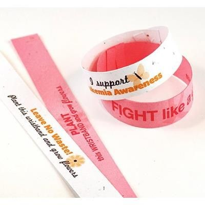 Picture of SEEDED PAPER WRIST BAND