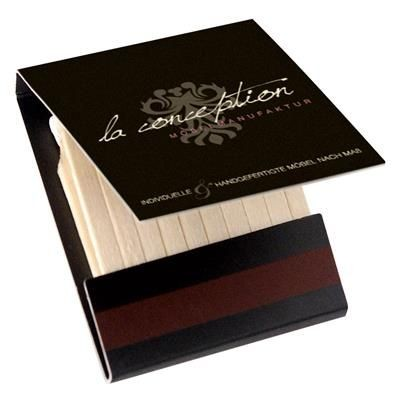 Picture of WOODEN BOOKLET MATCHES 9671
