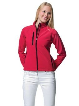 Picture of JERZEES LADIES SOFT SHELL JACKET