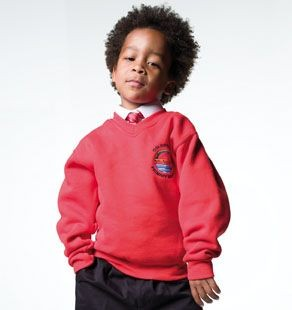 Picture of JERZEES CHILDRENS V NECK SWEATSHIRT