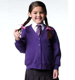 Picture of JERZEES CHILDRENS CARDIGAN