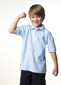 Picture of JERZEES CHILDRENS PIQUE POLO SHIRT