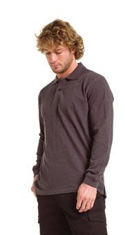 Picture of JERZEES LONG SLEEVE PIQUE POLO SHIRT
