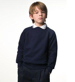 Picture of JERZEES CHILDRENS RAGLAN SWEATSHIRT
