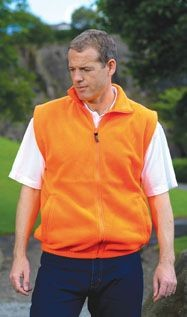 Picture of RTY ENHANCED VISIBILITY FLEECE GILET