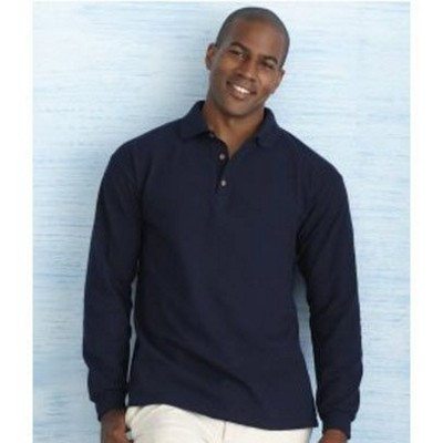 Picture of GILDAN ULTRA COTTON LONG SLEEVE PIQUE POLO SHIRT