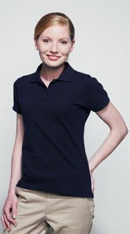 Picture of HENBURY LADIES STRETCH PIQUE POLO SHIRT