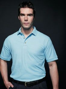 Picture of HENBURY DEFINITIVE HEAVY PIQUE POLO SHIRT