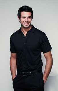Picture of HENBURY FULL BUTTON POLO SHIRT