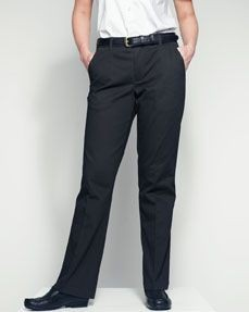 Picture of HENBURY LADIES FLAT FRONTED CHINO TROUSERS