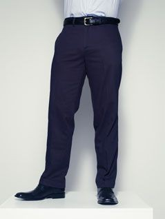 Picture of HENBURY FLAT FRONTED CHINO TROUSERS