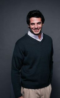 Picture of HENBURY ACRYLIC V NECK JUMPER