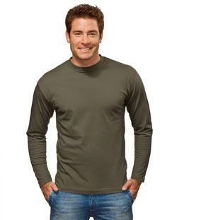Picture of HANES LONG SLEEVE HEAVY TEE SHIRT