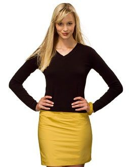 Picture of HANES LADIES V NECK JUMPER