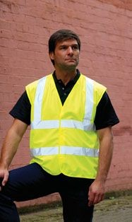 Picture of RTY HIGH VISIBILITY REFLECTIVE WAISTCOAT