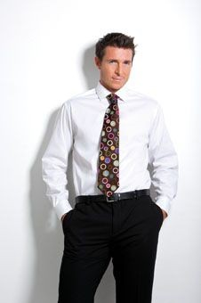 Picture of KUSTOM KIT LONG SLEEVE EXECUTIVE PREMIUM OXFORD SHIRT