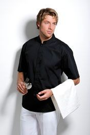 Picture of KUSTOM KIT BARGEAR MANDARIN COLLAR BAR SHIRT