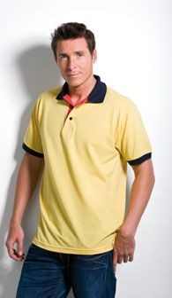 Picture of KUSTOM KIT CONTRAST PIQUE POLO SHIRT