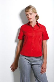 Picture of KUSTOM KIT LADIES SHORT SLEEVE CONTINENTAL BLOUSE