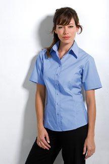 Picture of KUSTOM KIT LADIES SHORT SLEEVE BUSINESS SHIRT