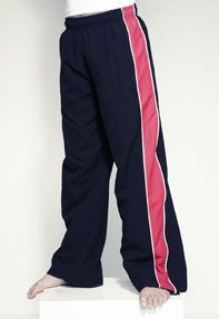 Picture of FINDEN & HALES CHILDRENS CONTRAST TRACK PANTS