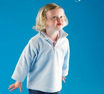 Picture of LARKWOOD BABY & TODDLER ZIP NECK MICRO FLEECE