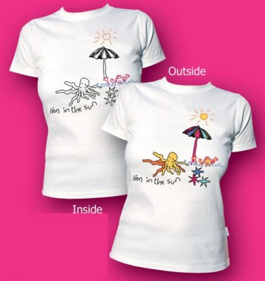Picture of MAGIC UV ULTRA VIOLET COLOUR CHANGING TEE SHIRT