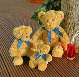 Picture of MUMBLES BRACKEN SOFT TOY BEAR