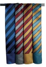 Picture of PREMIER WIDE STRIPE BUSINESS SCARF