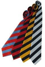 Picture of PREMIER BOLD STRIPE BUSINESS TIE