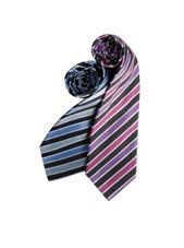 Picture of PREMIER CANDY STRIPE BUSINESS TIE