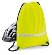Picture of HIGH VISIBILITY REFLECTIVE GYMSAC DRAWSTRING BAG