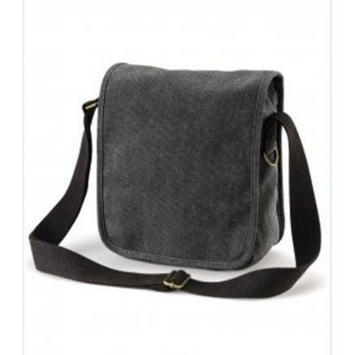 Picture of CANVAS COMPACT REPORTER BAG