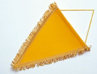 Picture of PENNANT TRIANGULAR