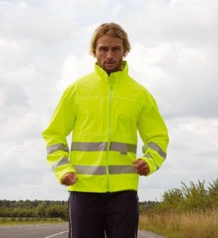 Picture of RESULT HIGH VISIBILITY REFLECTIVE SOFT SHELL JACKET