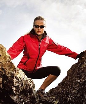 Picture of RESULT LADIES LA FEMME SOFT SHELL JACKET