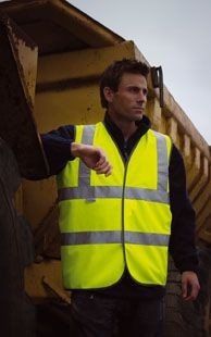 Picture of RESULT SAFEGUARD HIGH VISIBILITY REFLECTIVE VEST