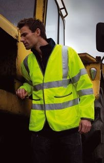 Picture of RESULT SAFEGUARD LIGHTWEIGHT MOTORWAY SAFETY JACKET